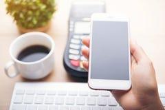 Pagamento móvel, foto de stock