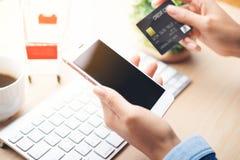 Pagamento móvel, imagens de stock royalty free