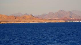 Pagamento na costa abandonada da peninsula do Sinai vídeos de arquivo