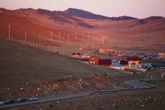 Pagamento ou vila do montanhês Foto de Stock