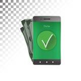 Pagamentos eletrônicos Imagem de Stock