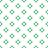 Pagan ancient symbol pattern seamless Royalty Free Stock Images
