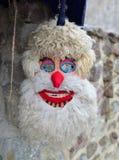 Pagan dacian mask Royalty Free Stock Images