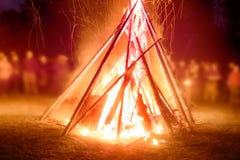 Pagan festival of Walpurgis night Stock Image