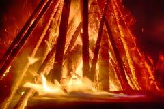 Pagan festival of Walpurgis night Royalty Free Stock Image