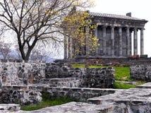 Pagan monastery Garni. Caucasus. Armenia Royalty Free Stock Image