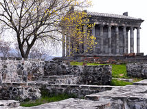 Pagan monastery Garni Royalty Free Stock Image