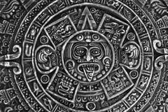 Pagan ornament a sun stone Stock Photo