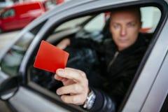 Pagando Bill By Credit Card imagens de stock royalty free