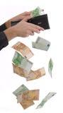 Pagando in denaro fotografie stock libere da diritti