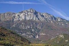 Paganella i Trentino Fotografering för Bildbyråer