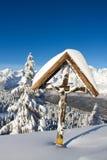 Paganella ski Royalty Free Stock Image