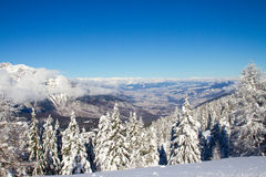 Paganella ski Stock Image