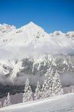 Paganella ski Stock Images