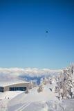 Paganella ski Stock Photo
