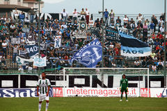 Paganese supporters Stock Photos