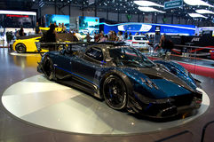 Pagani Huayra Geneva 2014 Royalty Free Stock Photos