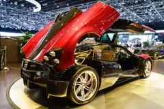 Pagani Huayra, Motor Show Geneva 2015. Royalty Free Stock Photo