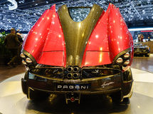 Pagani Huayra, Motor Show Geneva 2015. Stock Photography