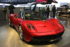 Pagani Huayra World Premiere Stock Photo