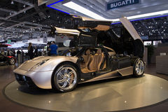 Pagani Huayra World Premiere - Geneva 2011 Royalty Free Stock Photo