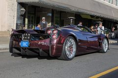 2017 Pagani  at Modesto cars and coffee 2018 Stock Photo
