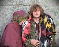 Pagans Mark the Autumn Equinox at Stonehenge Royalty Free Stock Images