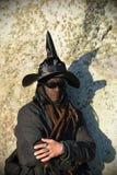 Pagans Mark the Autumn Equinox at Stonehenge Stock Images