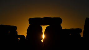 Pagans Mark the Autumn Equinox at Stonehenge Royalty Free Stock Photography