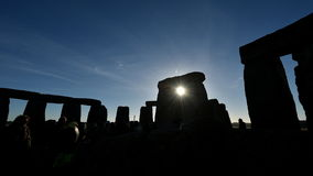 Free Pagans Mark The Autumn Equinox At Stonehenge Stock Photo - 59825890