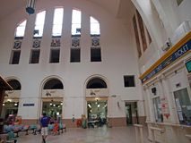 pagar σιδηροδρομικός σταθμό&sigma Στοκ Εικόνες