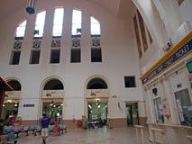 pagar järnväg stationstanjong Arkivfoto