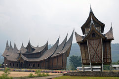Pagaruyung architecture royalty free stock photos