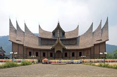 Pagaruyung architecture Stock Images