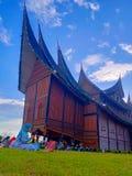 Pagaruyung slott royaltyfri foto