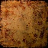 Page antique affligée de lettres - fond sale Photographie stock libre de droits