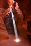 Page Arizona de gorge d'antilope Photographie stock