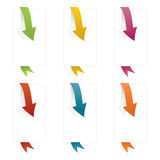 Page arrows Royalty Free Stock Image