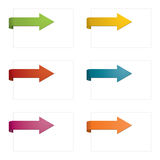Page arrows Royalty Free Stock Photography