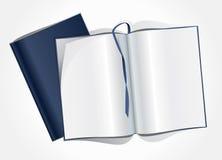 Page blanc d'un magazine Photo stock