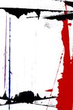 Page Border Painting. Abstract Page Border. ( Computer Generated Image vector illustration