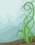 Page brouillée illustrée tirée par la main de vigne illustration libre de droits
