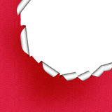 Page curl. Torn page like type of page curl stock illustration