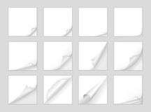 Page curl vector Stock Photos