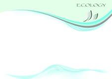 Page d'écologie Image stock