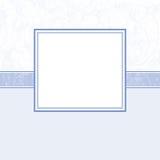 Page d'album à bébé - annonce de naissance - 3 Photo stock