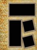 Page d'album de cru Images libres de droits