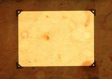 Page d'un album de cru Photo libre de droits
