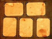 Page d'un album de cru Images libres de droits