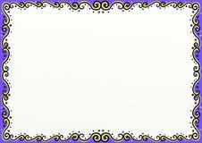 Page Dcoration de Flourish de remous illustration libre de droits